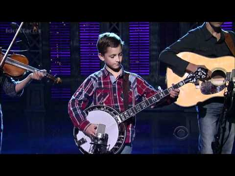 9 Year Old Plays Banjo on David Letterman Show