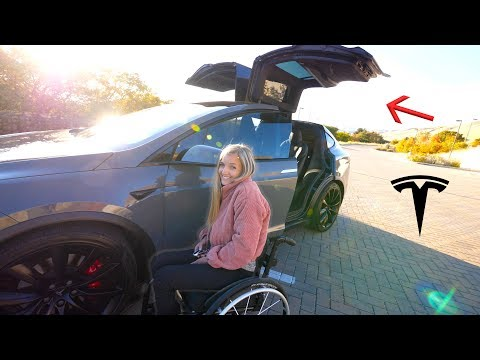 The Best Car for Someone in a Wheelchair Our new Tesla Model X