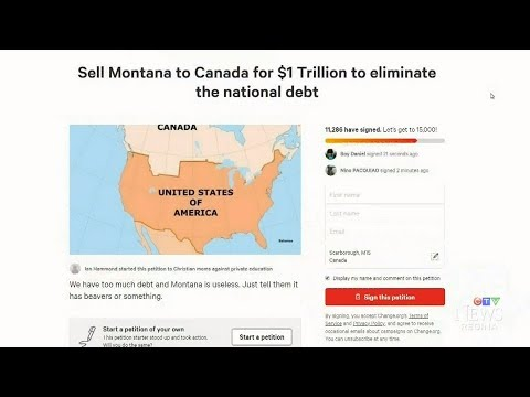 Xxx Mp4 Petition Calls For U S To Sell Montana To Canada For 1 Trillion 3gp Sex