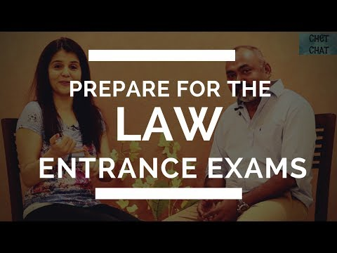 How to Prepare For The Law Entrance Exams, CLAT and LSAT Exams in India Part 2 of 2 #ChetChat
