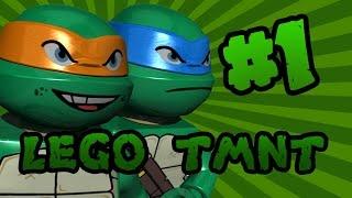 LEGO Teenage Mutant Ninja Turtles (TMNT): Episode 1   TwinToo Bricks
