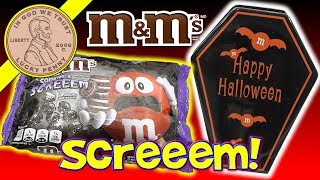 M&M Cookies & Screeem - Count M&M Dracula Coffin Candy Dish