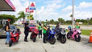 ALL GIRLS MOTORCYCLE RIDE X MIAMI WOMEN RIDERS X FLORIDA KEYS MOTO VLOG 20