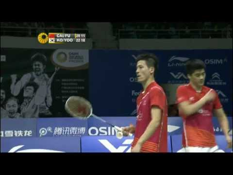 Group (Day 3: Session 1) - MD - Ko S.H./Yoo Y.S. vs Cai Yun/Fu Haifeng - WSS Finals'11