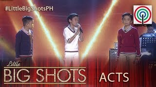 Little Big Shots Philippines: Mackie, Keifer & Francis | TNT Kids Trio