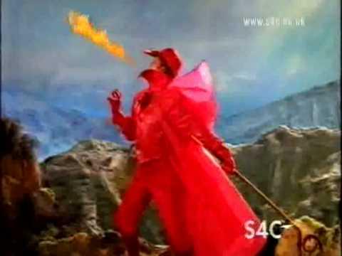 S4C Ident Dragon man