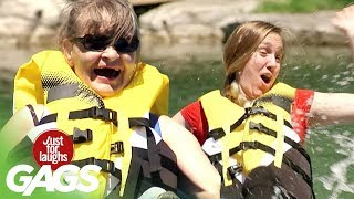 Crashing into a Canoe Prank