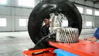 Big Waste  OTR tires recycling plant