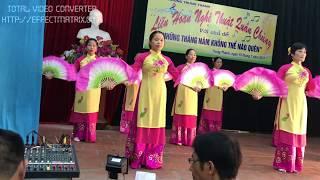 Múa quạt - Tổ 26 Trung Thành Thái Nguyên (15/07/2017)