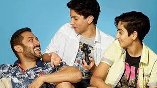 Salman Khan Poses With Nephews Arhaan and Nirvaan