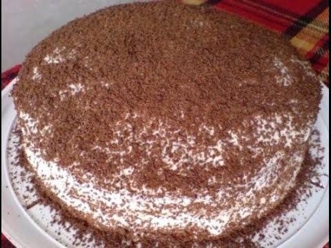 Лёгкие рецепты тортов с фото
