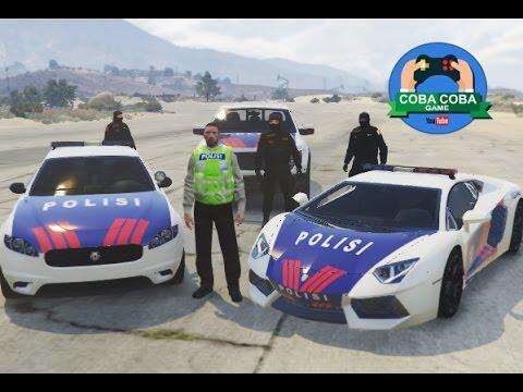 86 TEAM JAGUAR NAIK MOBIL POLISI LAMBORGHINI MEMBASMI BEGAL - GTA V Mp3