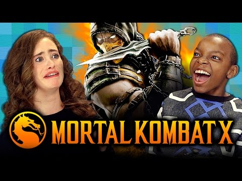 MORTAL KOMBAT X Teens React Gaming