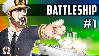 THE MIGHTY PIRATES VS THE DIRTY ORCS! | Battleship  #1 (New Ruleset) Ft. Sattelizer Games