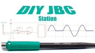 Powerful DIY JBC Soldering Station - 250W C470 Arduino-based