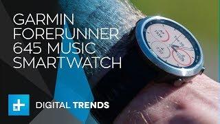 Garmin Forerunner 645 Music Smartwatch - Hands On Review