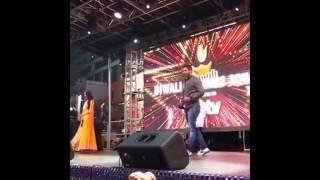 Sriti's Bengali Diwali Wish & Sriti-Shabir's Improv - Times Square, October 2016