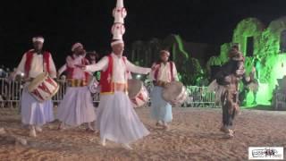 مهرجان عرس الطبل بغمراسن : سهرة المحفل بالقصر الاثري بالفرش GHOMRASSEN 2016