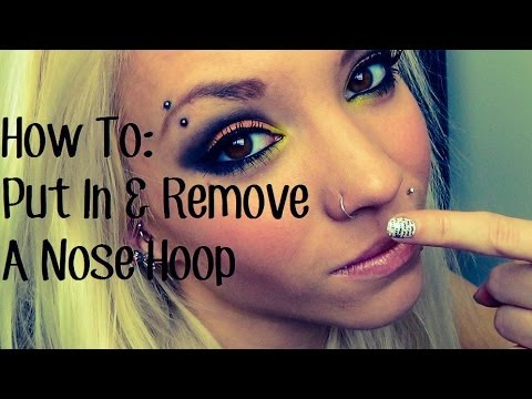 Xxx Mp4 How To Put In Take Out A Nose Hoop 3gp Sex