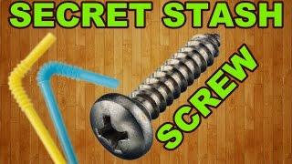 How To Make Most Secret Stash Ever