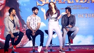 Alia Bhatt's DUMB & Funny Dance At Shaandar Music Launch | Gulaabo