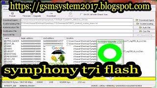 symphony t7i flash