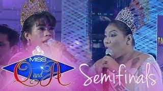 It's Showtime Miss Q & A Semifinals: Elsa Droga vs. Melanie Kalalabsatan | Di Ba? Teh! Ganern