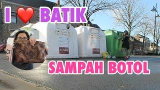 DAPAT PAKET DARI INDO | wHAT'S IN MY BAG?| BUANG SAMPAH BOTOL