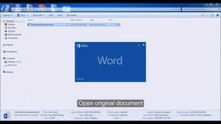 How To Remove Editing Password of DOCX