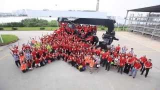 Kalmar Gloria Reachstacker Launch In APAC, Shanghai 2014