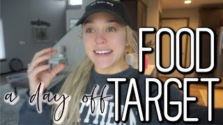 A BUSY DAY OFF: TARGET HAUL + EASY HEALTHY MEAL IDEA