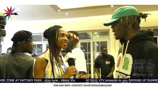 Kwesi Arthur ❌ Kofi Mole made it big @ This year's Ground Up Challe Summer Zone @ The Park....