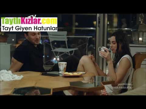 Tuvana Türkay Siyah Çorap Frikik Kara Para Aşk Video