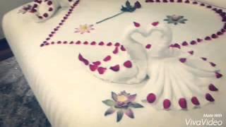 Honeymoon Bed decoration