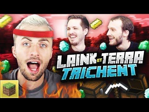 LAINK ET TERRA ONT TRICHÉ 😡 Minecraft ft. Bob Lennon Laink Terracid Doigby Fuze III