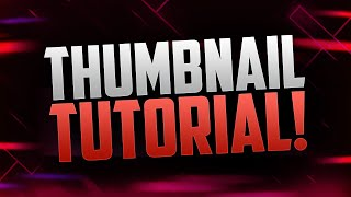 How to Make Thumbnails for YouTube Videos with Photoshop! (2015/2016 Tutorial)