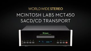 McIntosh Labs MCT450 SACD/CD Transport Product Tour