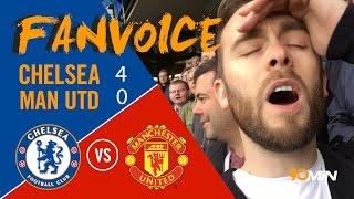 Worst Man United performance ever?! | Chelsea smash Man United 4 - 0 | 90min FanVoice