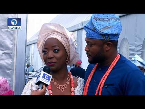 Xxx Mp4 Channels TV Presenter Maupe Ogun Weds Mohammed Bamidele Yusuf Metrofile 3gp Sex