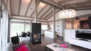 Finnlamelli -  Timberkoti pilaripalkki talot