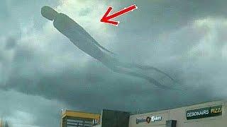 أشياء مخيفة حدثت في السماء التقطتها أجهزة التصوير (الجزء الثاني)..!!