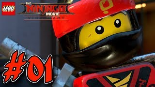 THE LEGO NINJAGO MOVIE VIDEOGAME GAMEPLAY #001 🐉 Kai & Cole   EgoWhity