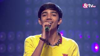Nirvesh Dave - Main rang Sharabaton ka | The Blind Auditions | The Voice India 2