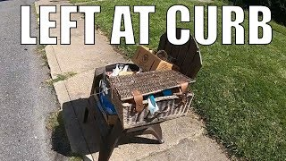 Trash Picking and Buying Some Antiques