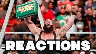 WWE Money In The Bank 2018 Reactions