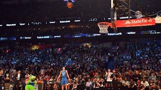 Un dron, protagonista en el Concurso de mates NBA All Star 2017
