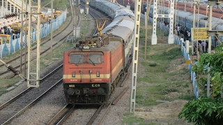 All Rajdhani Express at Full Speed