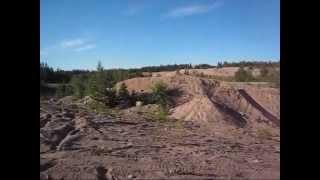 My KX 250 Ramp jumping P:2