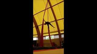 Silvia Zotto - Aerial Silk - Tessuti Aerei - Summer Training 2014