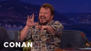 Jack Black Performs A